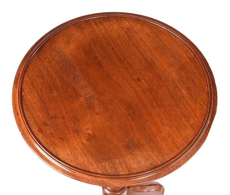 VICTORIAN MAHOGANY LAMP TABLE - Image 6 of 6