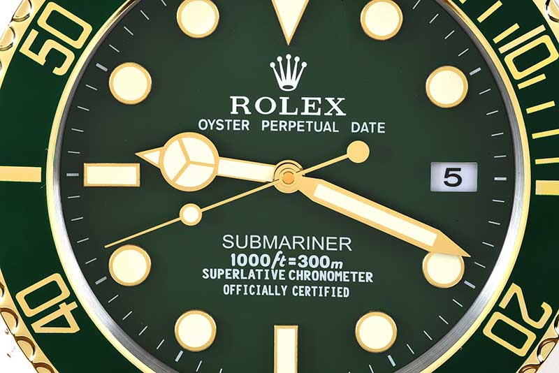 ROLEX WALL CLOCK - Image 2 of 4