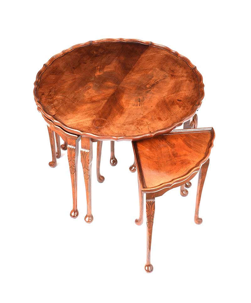 CIRCULAR NEST OF TABLES - Image 3 of 7
