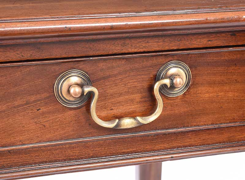 Lot 24 - GEORGIAN MAHOGANY SIDE TABLE