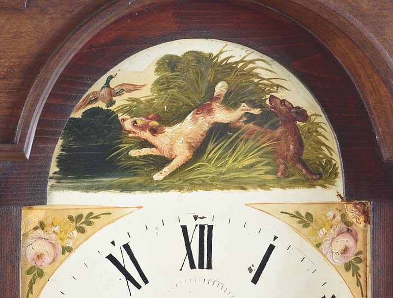 MAHOGANY LONGCASE CLOCK - Image 4 of 9