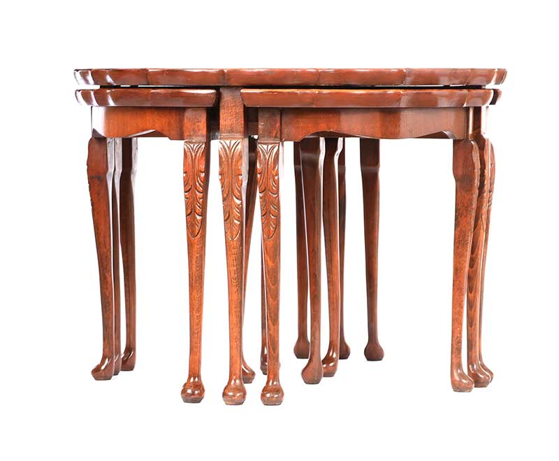 CIRCULAR NEST OF TABLES - Image 7 of 7