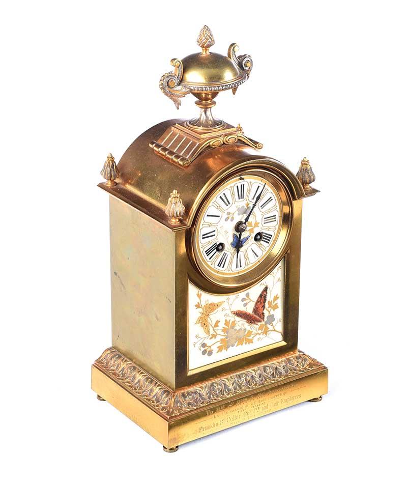 VICTORIAN CLOCK SET - Image 6 of 10