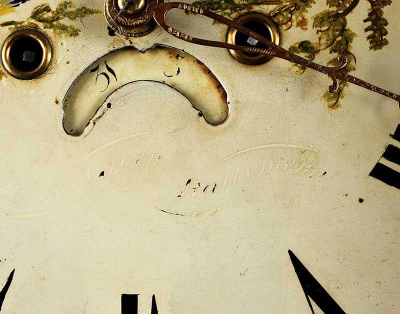 MAHOGANY LONGCASE CLOCK - Image 5 of 9