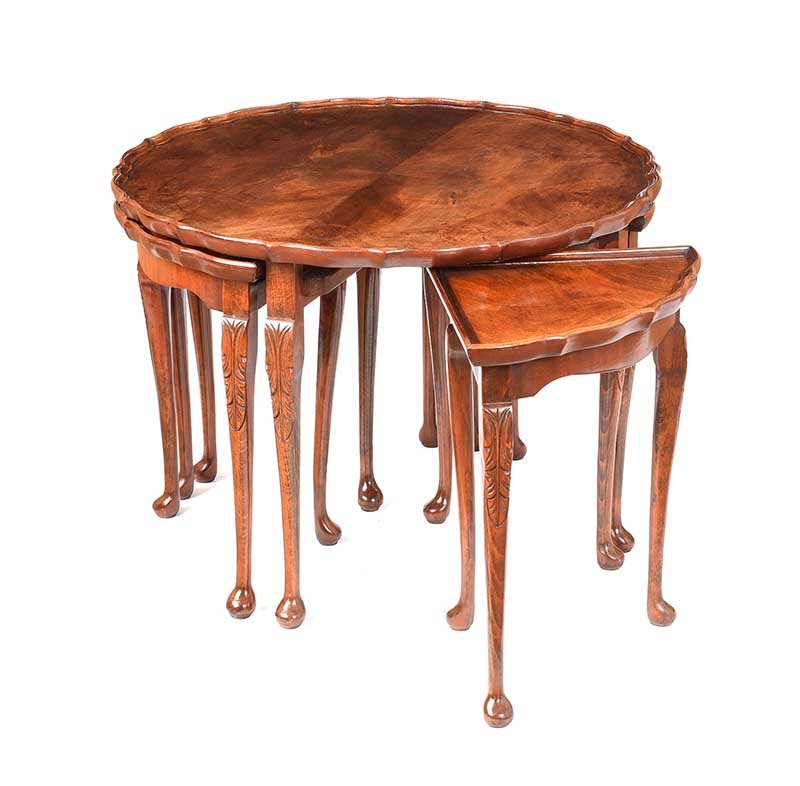 CIRCULAR NEST OF TABLES - Image 2 of 7
