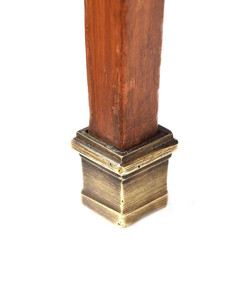 EDWARDIAN SATIN WOOD LAMP TABLE - Image 4 of 7