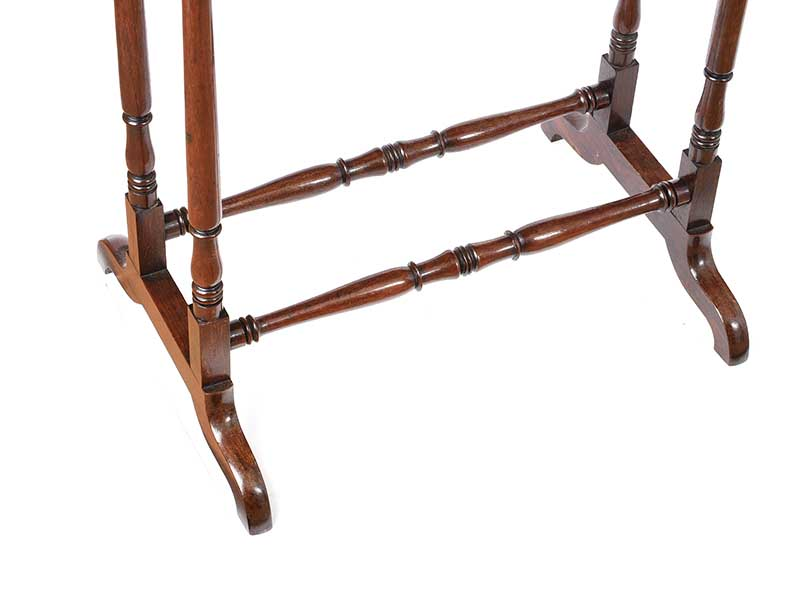 ANTIQUE ROSEWOOD LAMP TABLE - Image 2 of 6