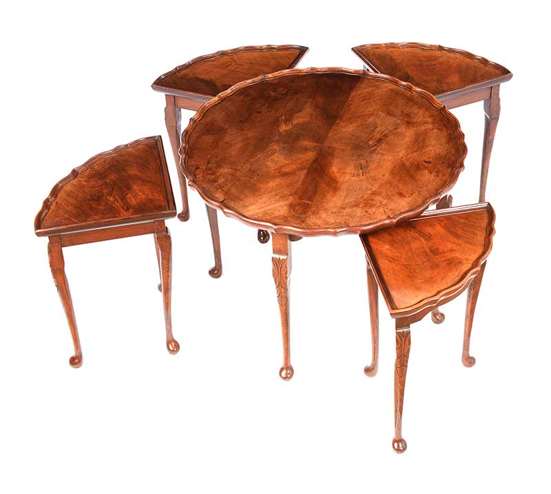 CIRCULAR NEST OF TABLES - Image 4 of 7