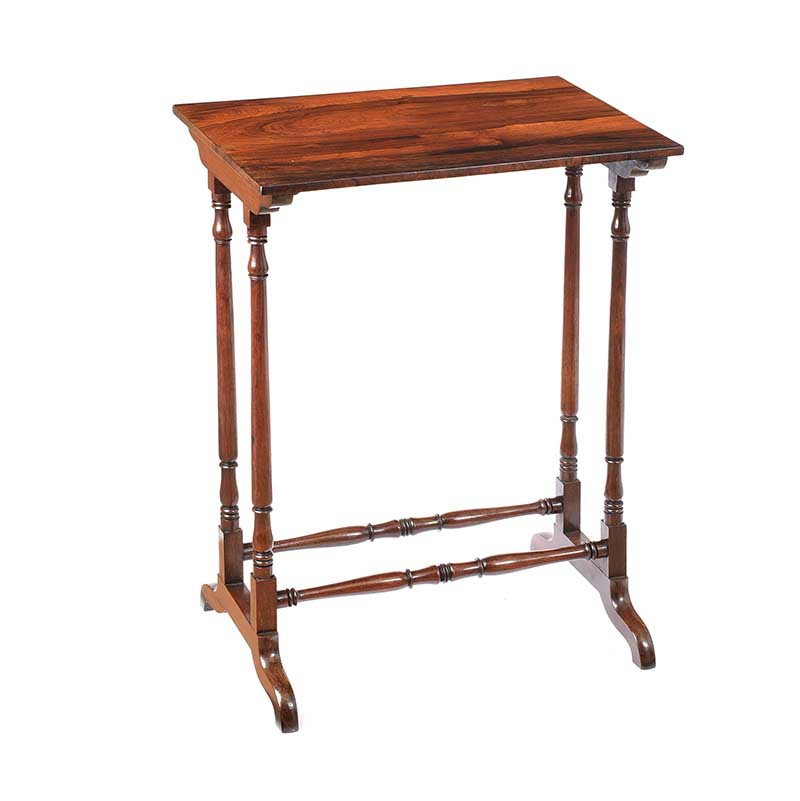 ANTIQUE ROSEWOOD LAMP TABLE