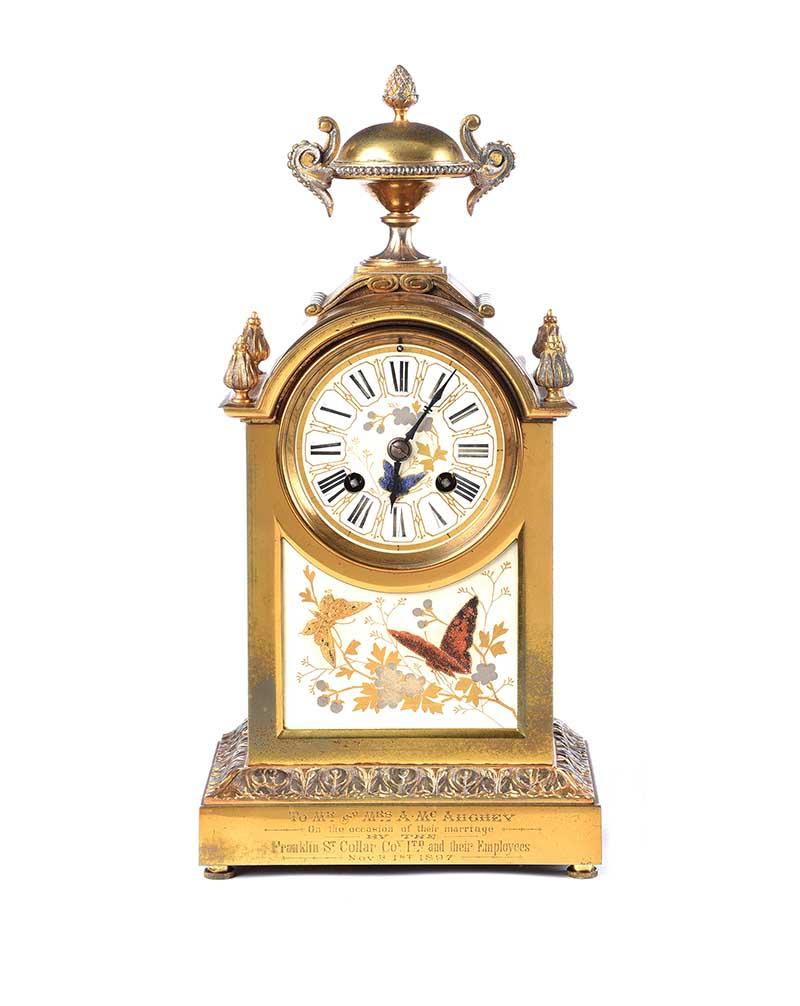 VICTORIAN CLOCK SET - Image 2 of 10