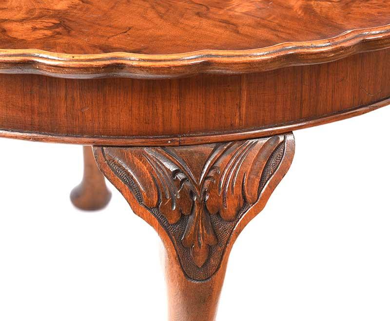 WALNUT COFFEE TABLE - Image 2 of 5