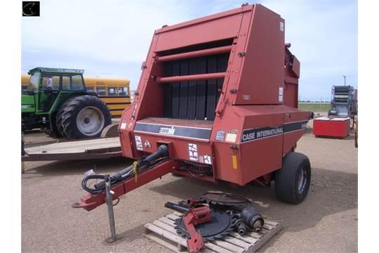 1993 Case/IH 8465 Round Baler SN CFH007442, gathering wheels, 540pto