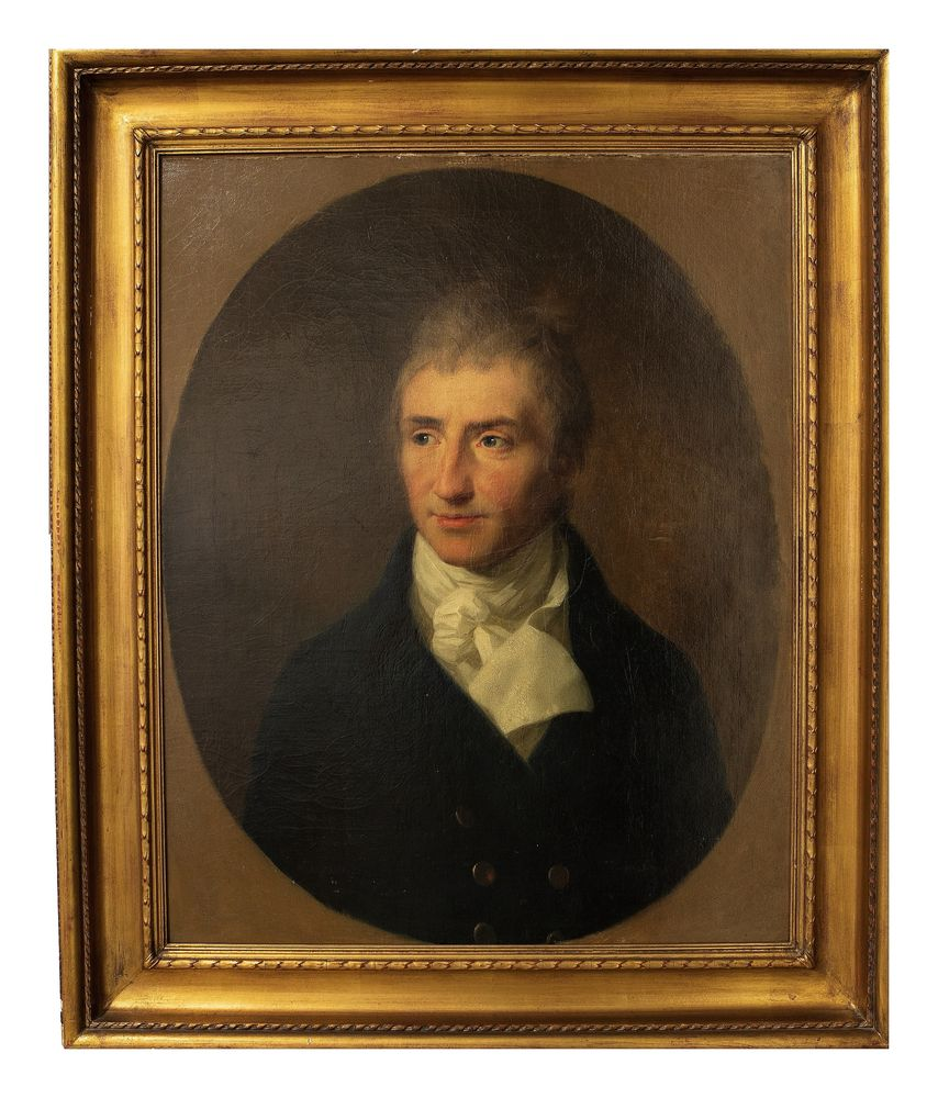 JOHANN FRIEDRICH AUGUST TISCHBEIN - Portrait of Augustus Kotzebue. 1808 oil on [...] - Bild 2 aus 2