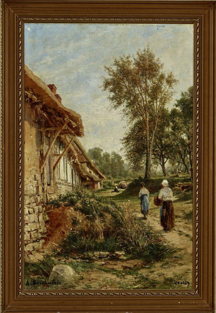 Alexey Petrovich Bogolyubov (1824-1896) - A Summer day in Veules-les-Roses, [...] - Bild 2 aus 2