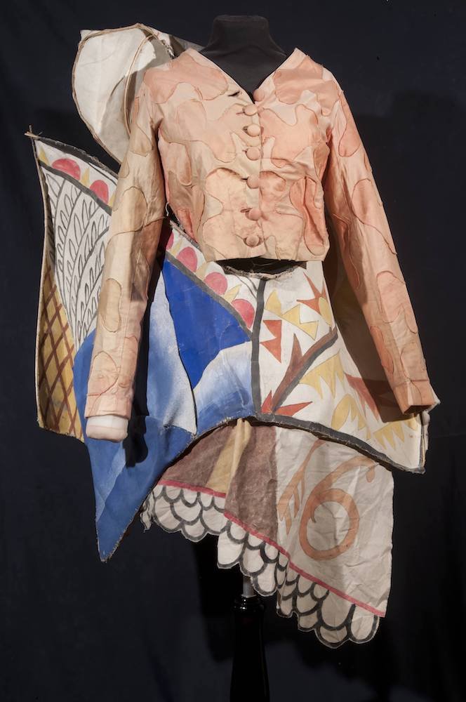 Mikhail Larionov (1881-1964) - The costume of the Chief Clown for S. Diaghilev's [...]