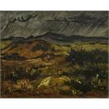 Leonid Sologub (1884-1956) - Rain Stamp of the artist's studio 'Leonid Sologub [...]