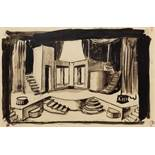 MSTISLAV DOBUZHINSKY (1875 - 1957) - Stage design for 'The Tragedie of [...]