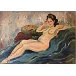 Belooussovitch Boris (1886 - 1987). - Reclining Nude signed 'Belloussovitch' [...]