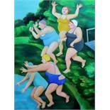 TATYANA NAZARENKO - Summer Oil on canvas 140 x 100 cm - - ТАТЬЯНА [...]