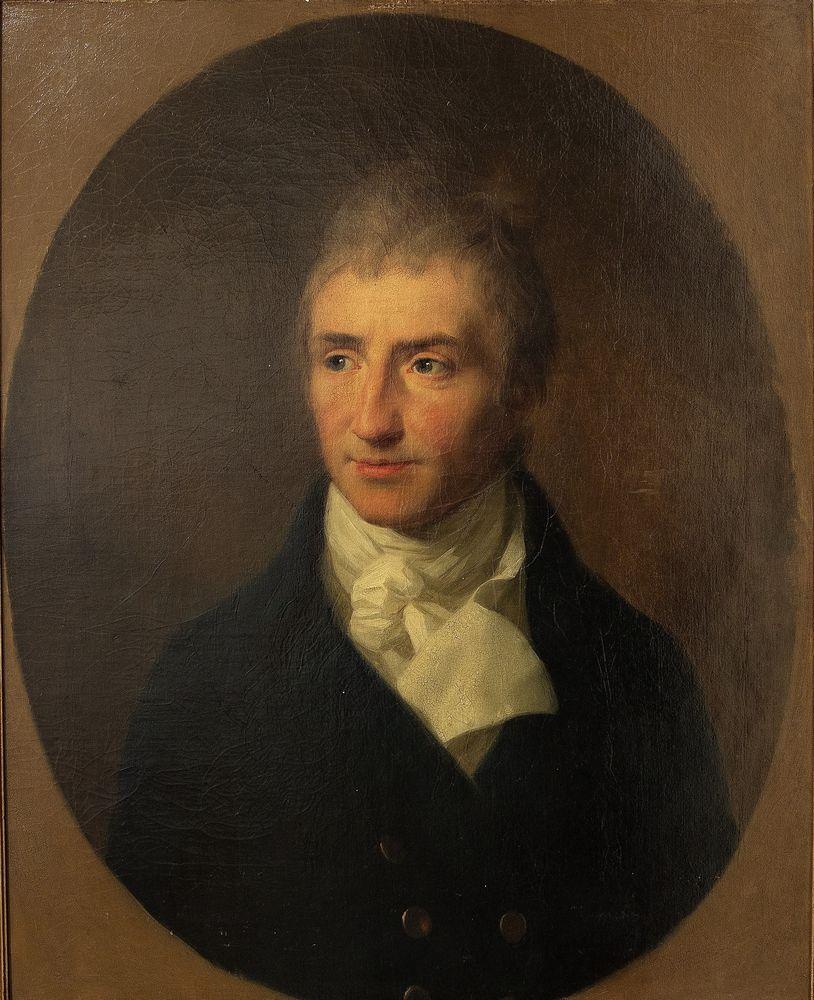 JOHANN FRIEDRICH AUGUST TISCHBEIN - Portrait of Augustus Kotzebue. 1808 oil on [...]