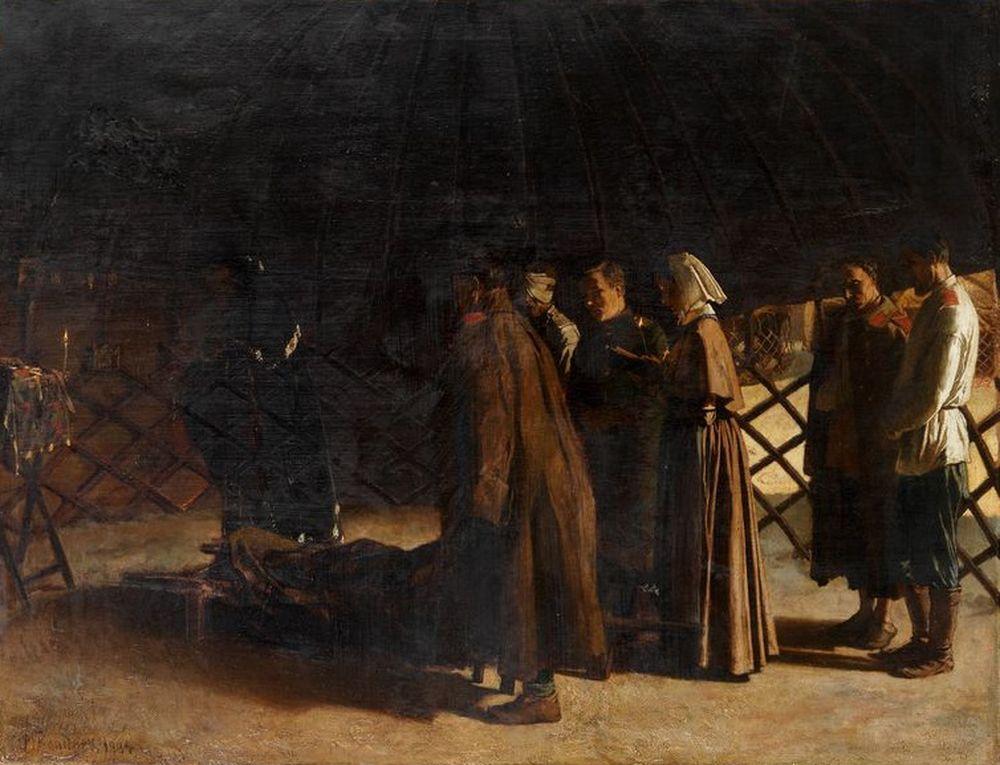 BARON MIKHAÏL PETROVICH KLODT (1835-1914) - Sœurs de charité (Sisters of Charity) [...]