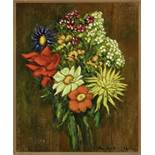 Leonid Romanovich Sologub (1884-1956) - Bouquet of flowers Signed 'Sologub' (lower [...]