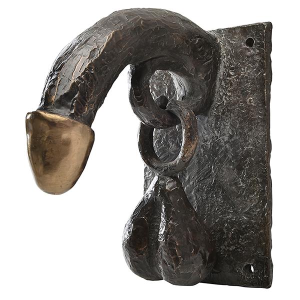 Erotic door knocker