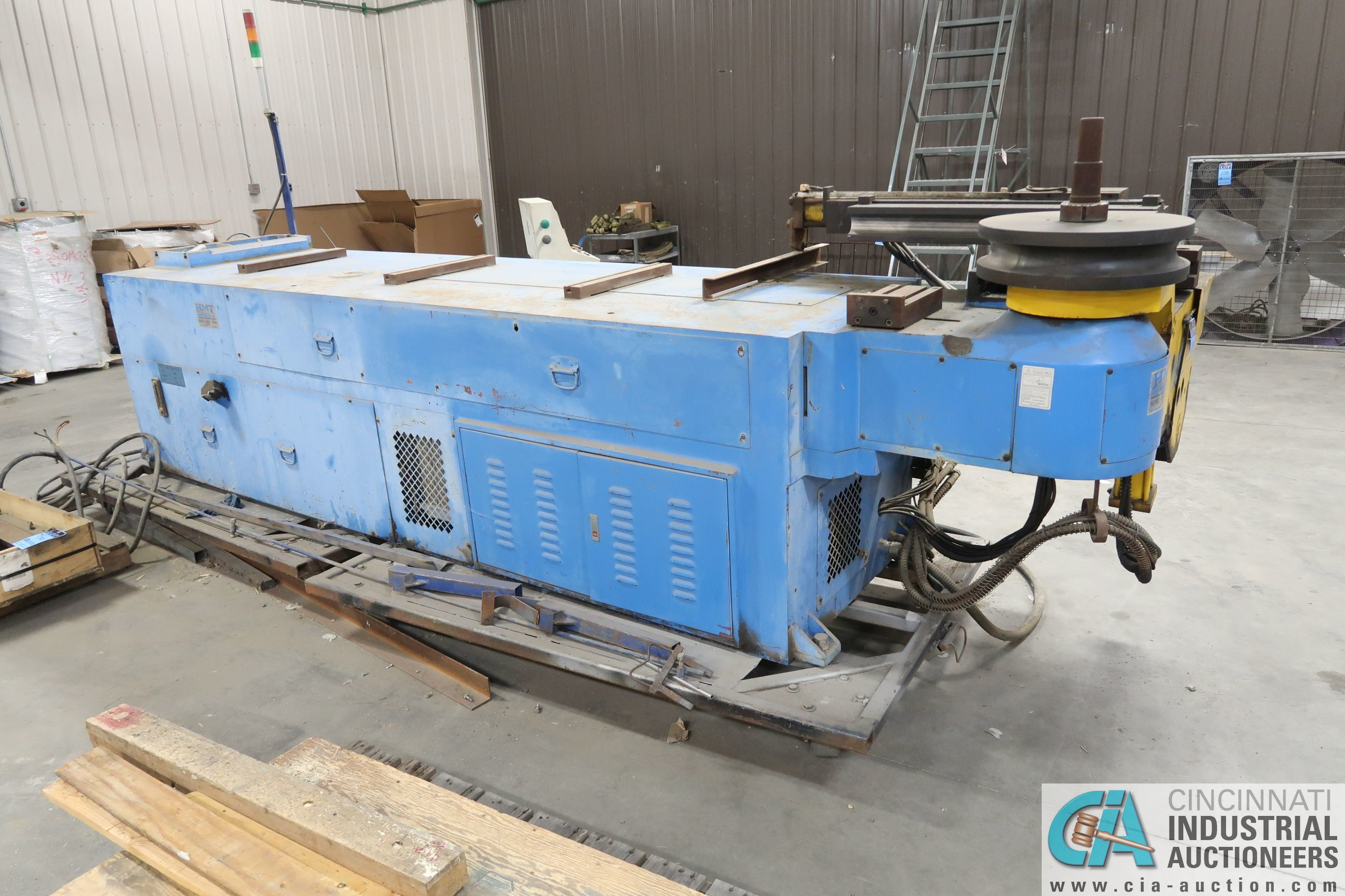 """4"""" HORN MODEL A100 TNCB CNC HYDRAULIC TUBE BENDER; S/N 080334-434B, CAPACITIES: 4"""" X .217 MILL STEEL - Image 10 of 11"""