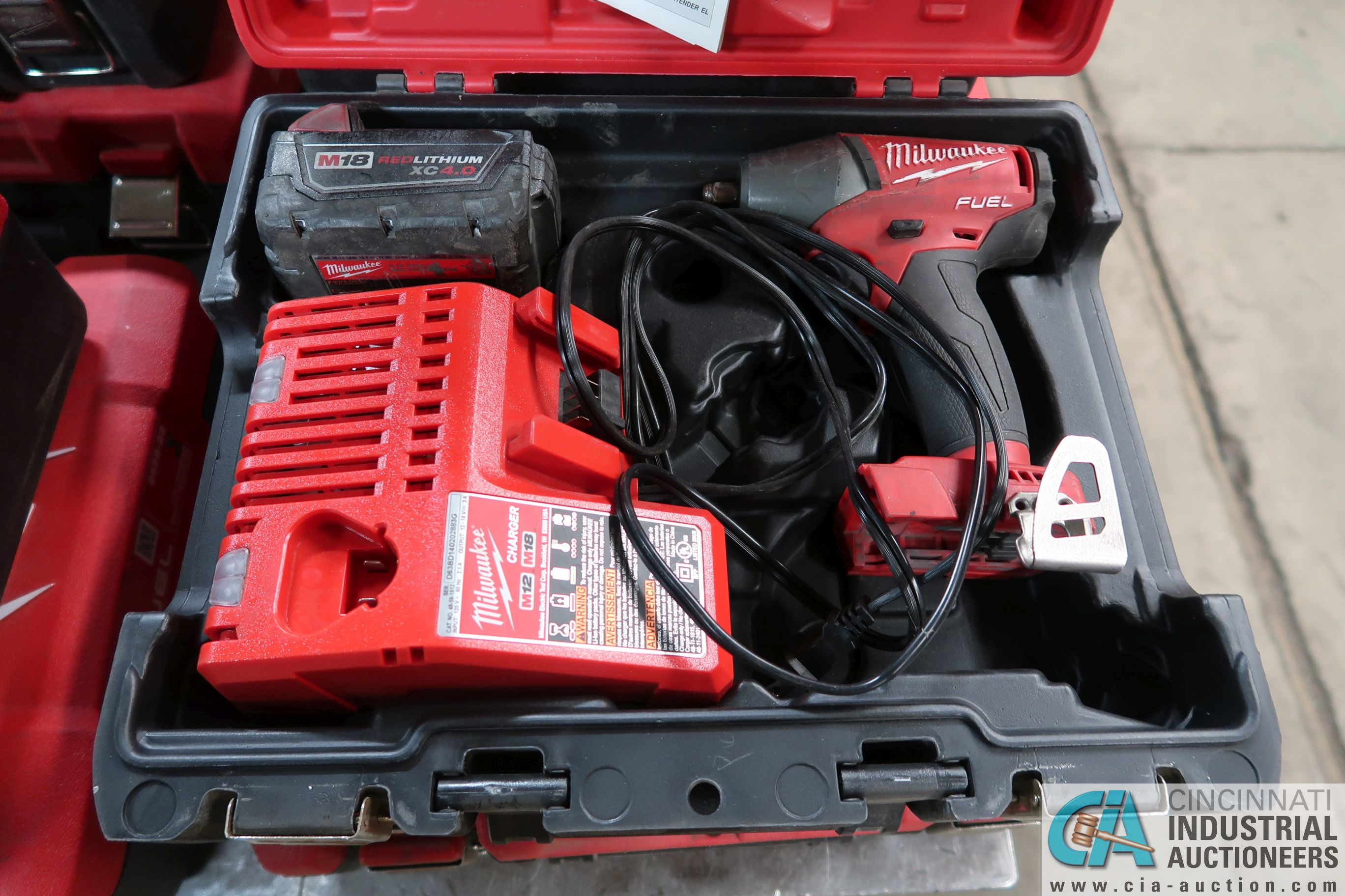 "3/8"" MILWAUKEE CORDLESS IMPACT WRENCH"