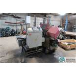 """11.8"""" X 11.8"""" BEHRINGER TYPE HBP303A DUAL COLUMN AUTO HORIZONTAL BAND SAW; S/N 894139, POWER FEED"""