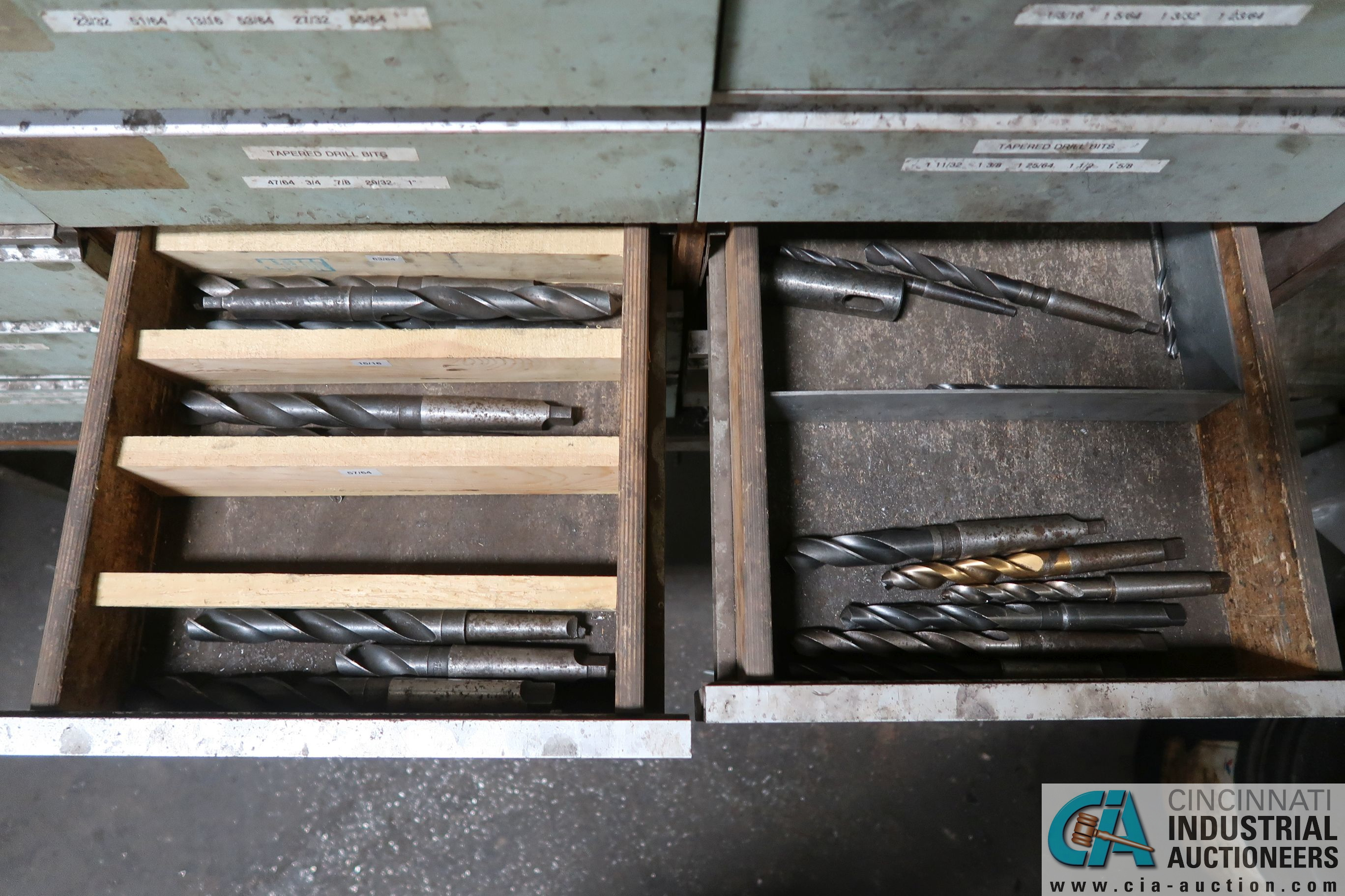 CABINETS WITH MISC. TOOLING, PARTS, HOLD DOWNS - Image 10 of 15