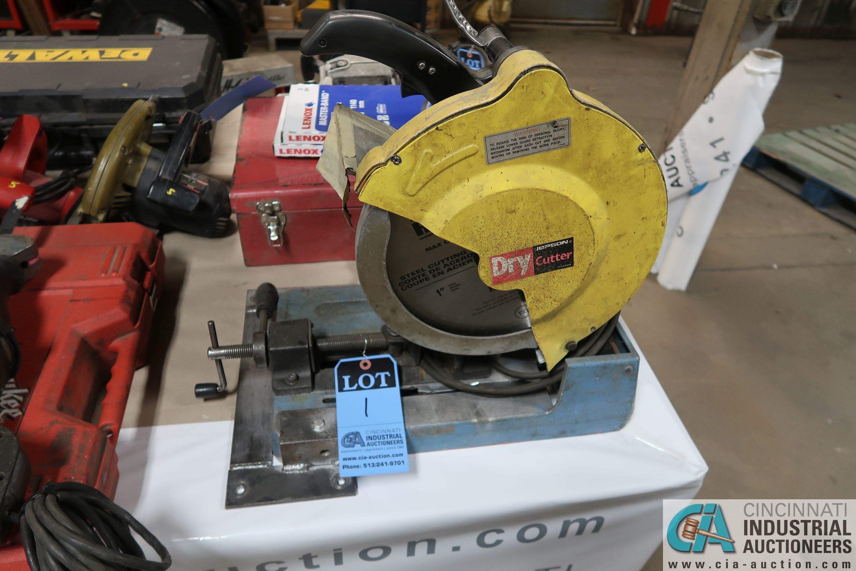 """12"""" JEPSON DRY CUTTER METAL SAW"""