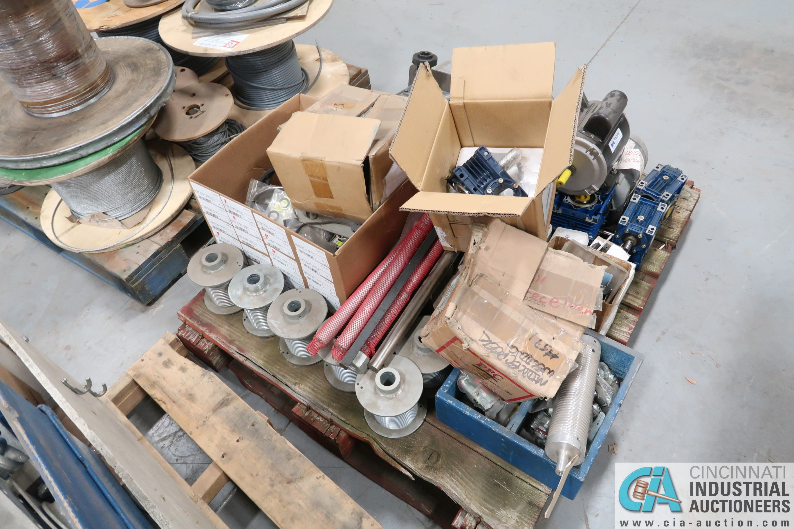 SKIDS MISC. PARTS, HARDWARE, CABLE - Image 6 of 6