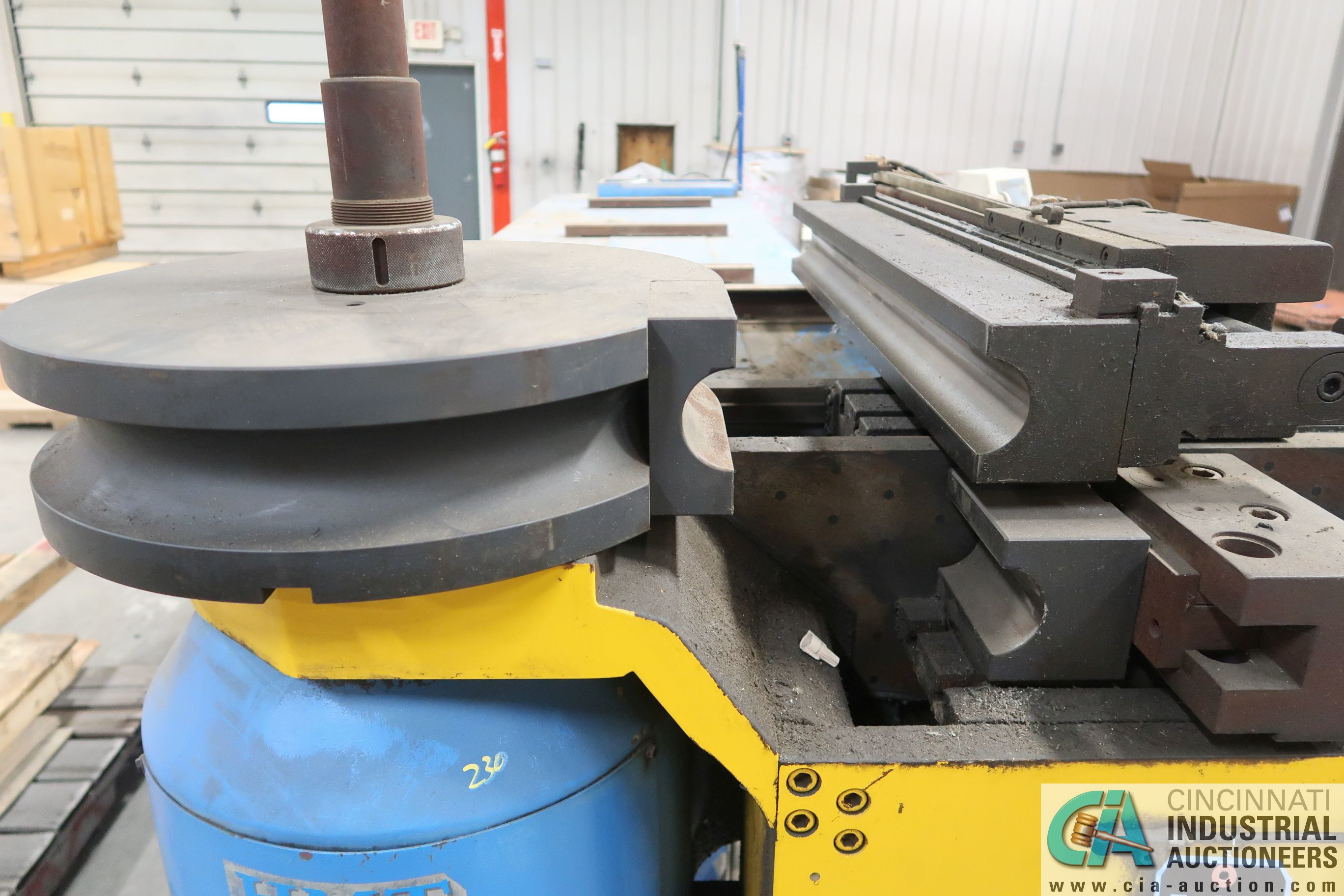 """4"""" HORN MODEL A100 TNCB CNC HYDRAULIC TUBE BENDER; S/N 080334-434B, CAPACITIES: 4"""" X .217 MILL STEEL - Image 9 of 11"""