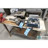 """(LOT) 1/2"""" SPECIALITY DRILL AND 8"""" GIBRATOR DRILL VISE"""