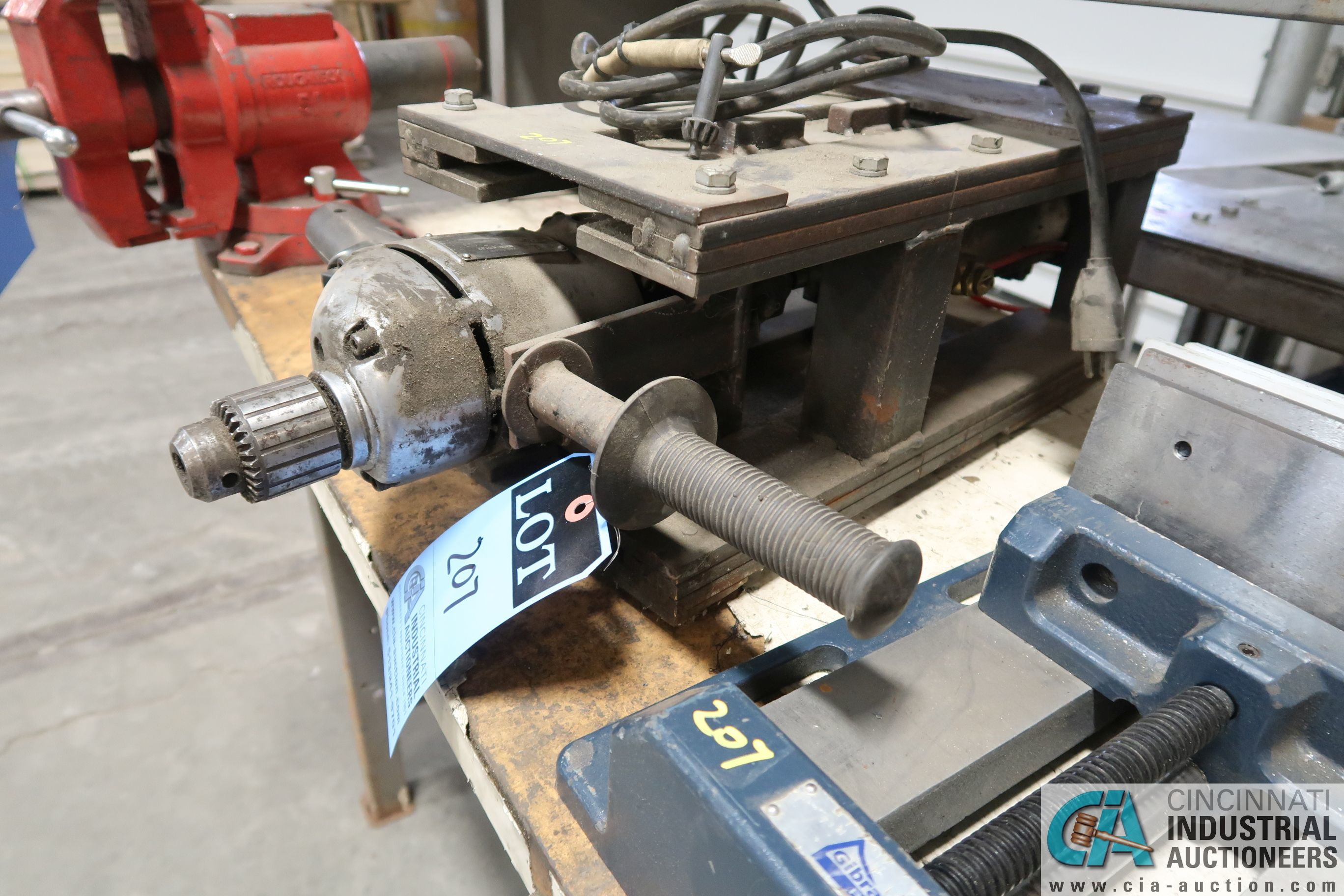 """(LOT) 1/2"""" SPECIALITY DRILL AND 8"""" GIBRATOR DRILL VISE - Image 2 of 3"""