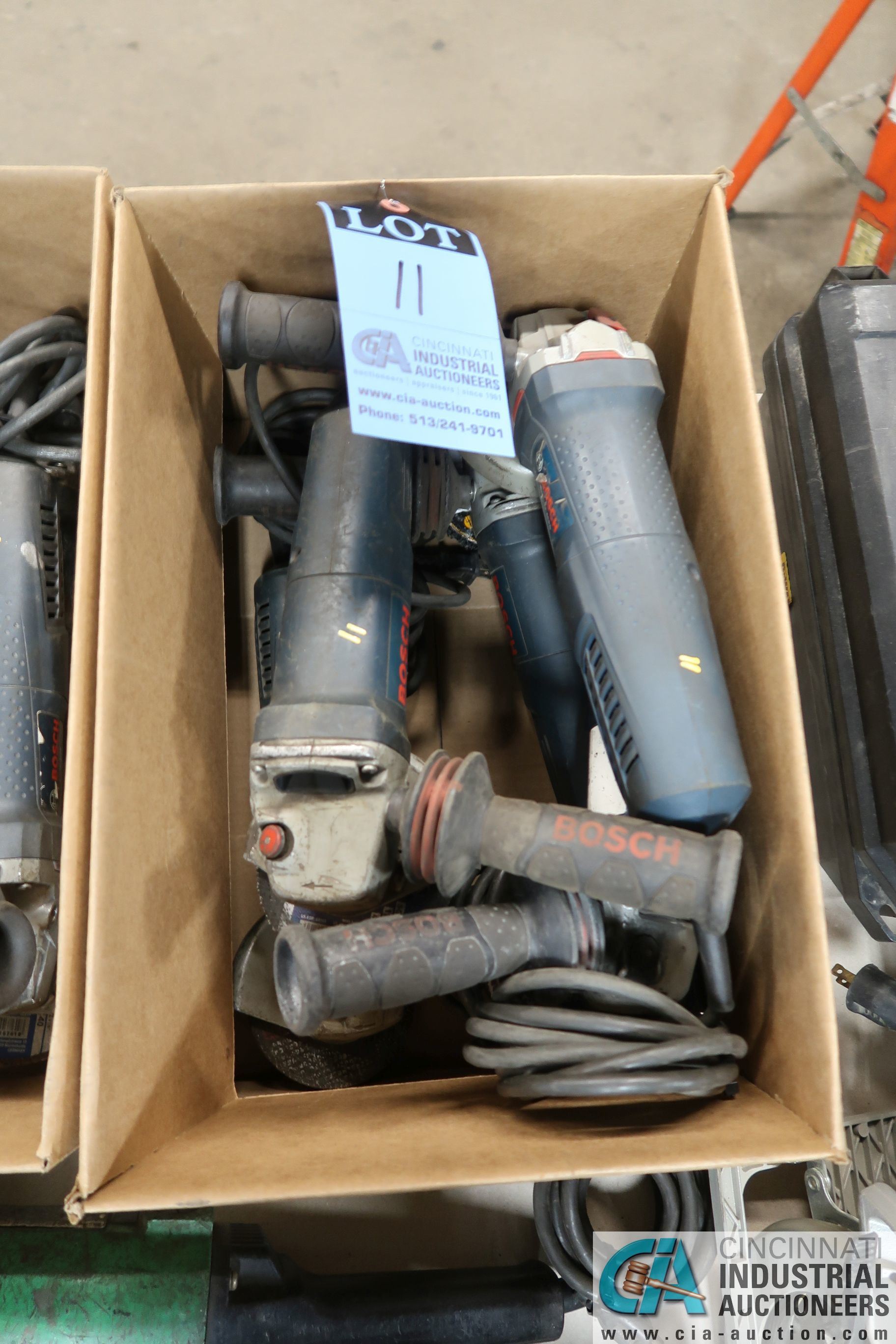 """4-1/2"""" BOSCH ANGLE GRINDERS"""