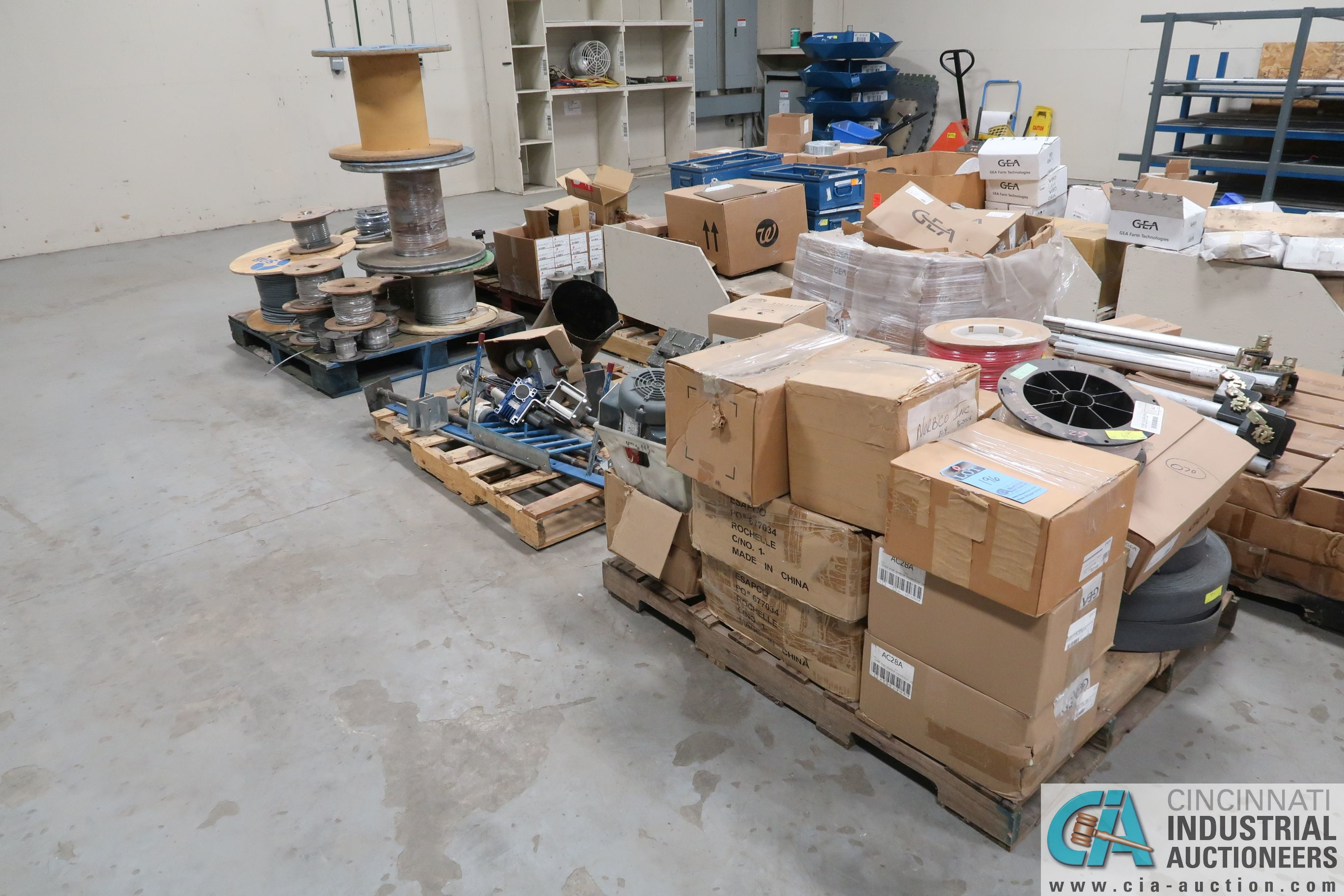 SKIDS MISC. PARTS, HARDWARE, CABLE