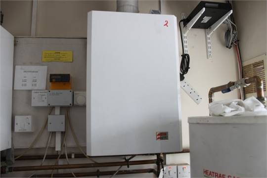 Halstead Best 80 gas boiler Location Plant Lift out charge 50