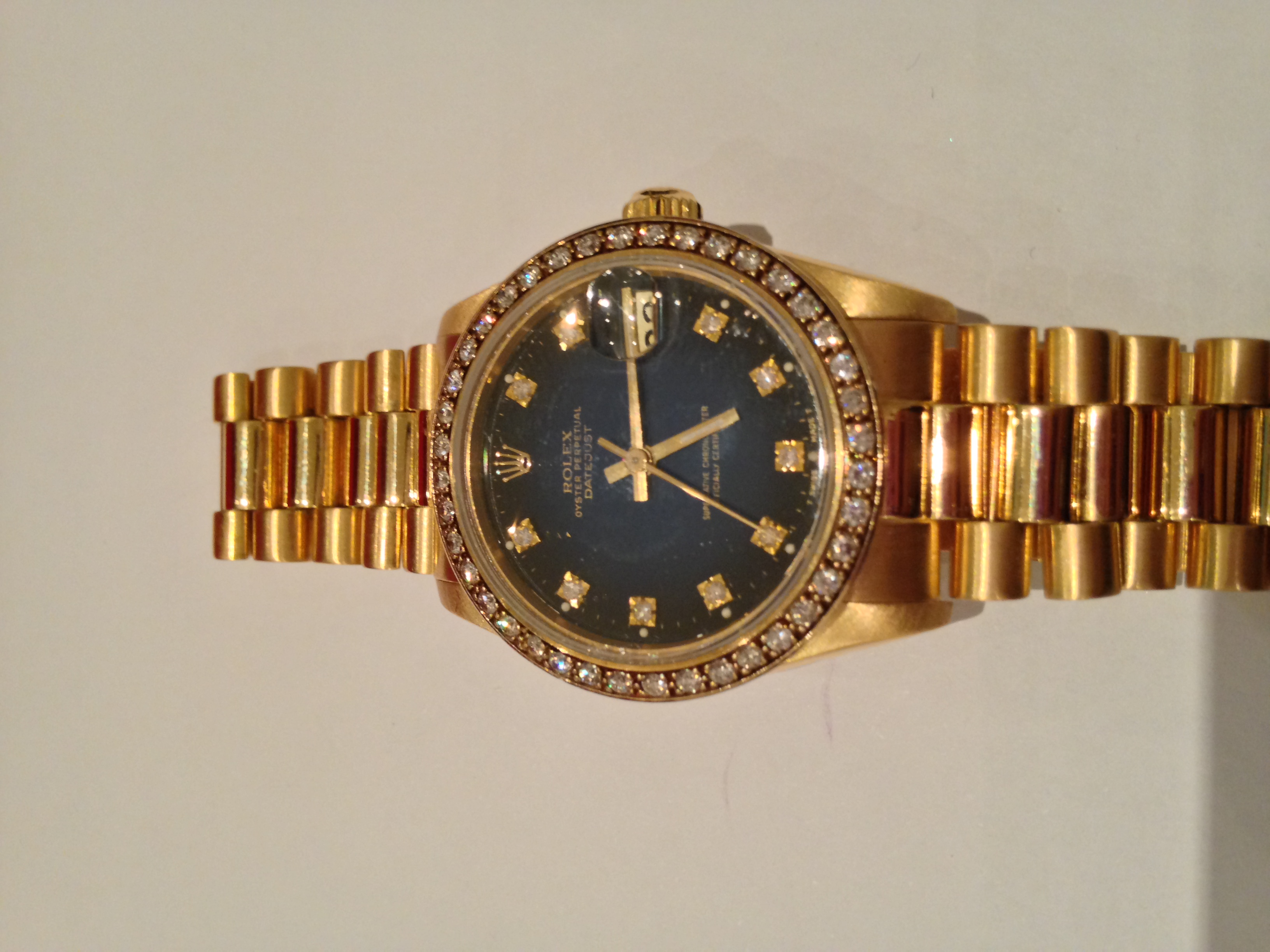 how to adjust rolex watch band size