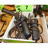 LOT/ BOSCH ANGLE GRINDERS