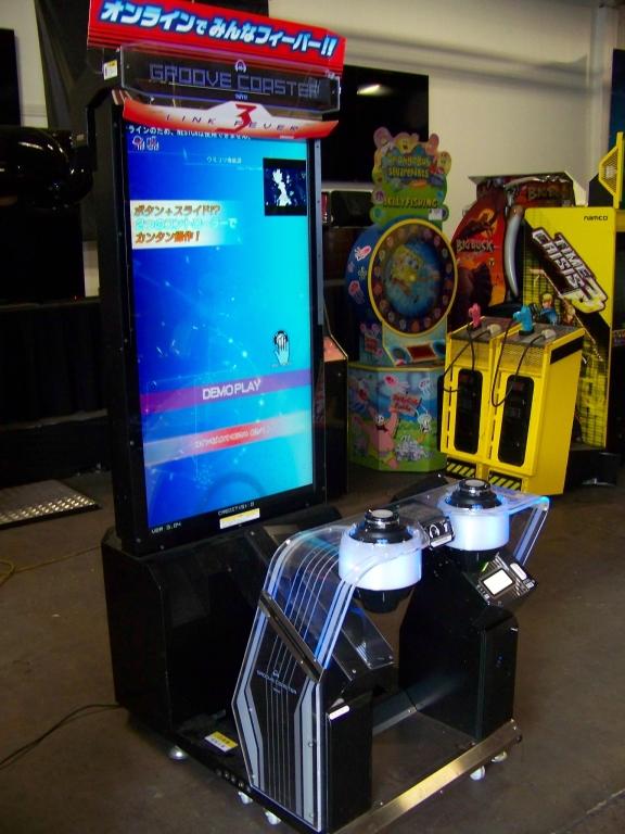 borne arcade groove coaster