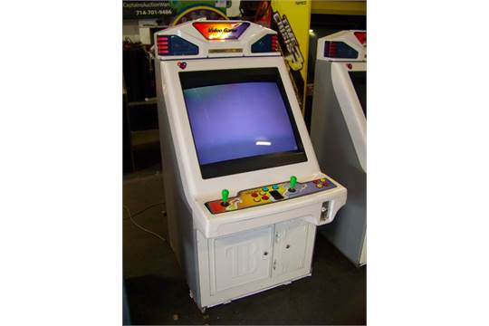 CROWIN CASE CANDY CABINET JAMMA 4 BUTTON ARCADE Item is in used