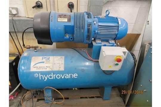 Hydrovane hv04 model 504purs10-4035d100 compressor serial no 504.