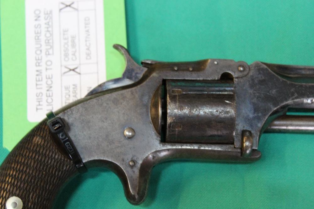 Lot 74 - A Smith & Wesson model No.2 Army revolver in .