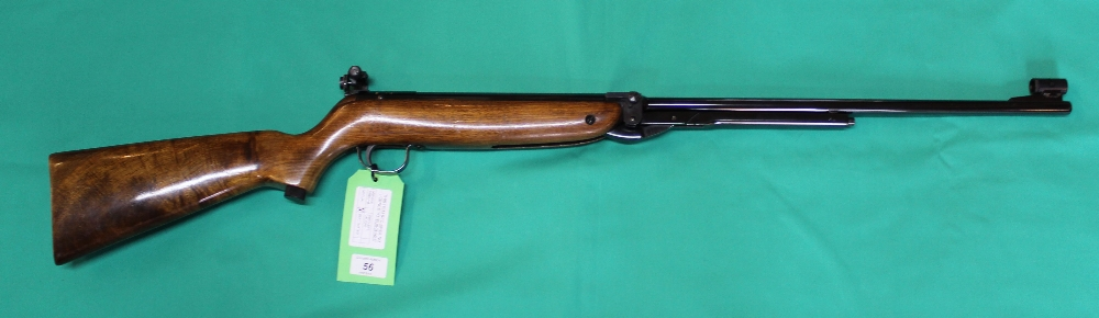A Webley & Scott 'Supertarget' .177 cal air rifle S/No.