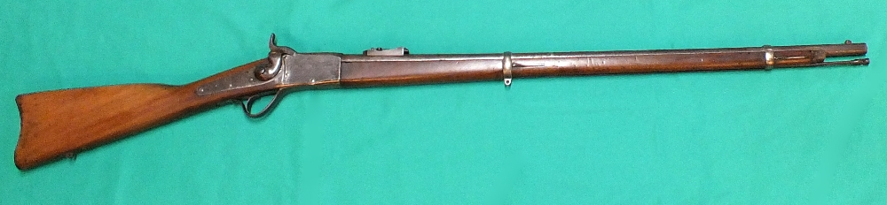 Lot 83 - A Peabody's Martini action rifle in .