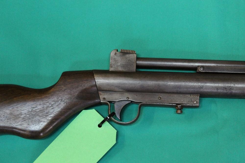 A rare Webley MkI .22 cal air rifle S/No. - Image 2 of 2