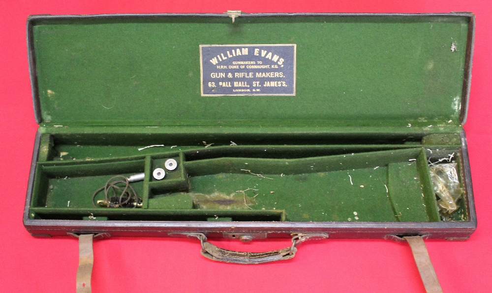 Lot 118 - A 12 bore side-by-side box lock ejector by William Evans London, S/No.