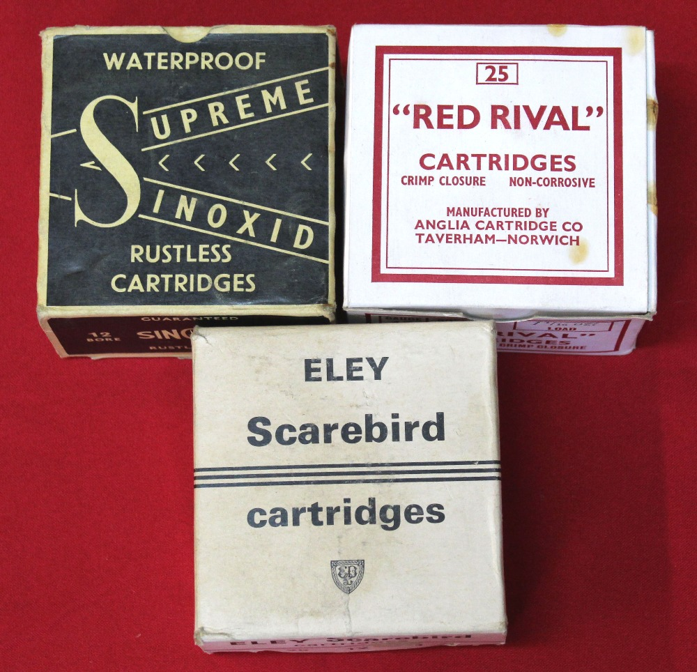 Lot 98 - Three boxes of 'collectors cartridges',